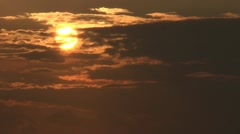 Stock Video Footage of Sunset. Can be used for timelapse.