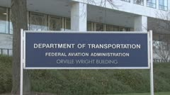 FAA - Department of Transportation Stock Footage