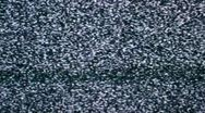 Television Noise Effect Stock Footage