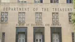 Treasury Department Stock Footage