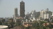 Stock Video Footage of Mumbai high rise tower blocks