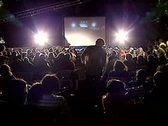 Film festival open air Stock Footage
