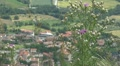 Aerial view of Republic of San Marino, Italy, Europe Footage