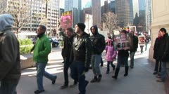 LP-Chicago-077a - stock footage