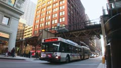 LP-Chicago-142a - stock footage