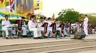 Navy Orchestra band Stock Footage