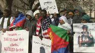 Eritreans  Stock Footage