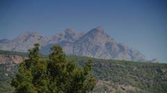 Mountain - stock footage
