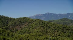 Mountains view - stock footage