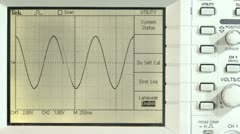 Periodic waveforms - stock footage
