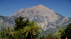 Mountains Palm - stock footage