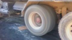 Spinning wheels Stock Footage