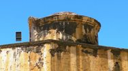 25p El Morro Castle 8 Stock Footage