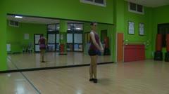 Ballet practise (1) Model release Stock Footage
