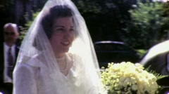 BRIDE BEFORE HER WEDDING 1948 Vintage Film 8mm Home Movie 1622 Stock Footage