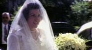 BRIDE BEFORE HER WEDDING 1948 Vintage Film 8mm Home Movie 1622 Stock Footage
