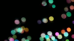 Party Bubble Lights Stock Footage
