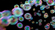 Stock Video Footage of Hundreds Of Bubbles