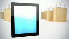 Tablet pc - stock footage