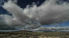 Nevada clouds timelapse\ Stock Footage