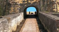25p El Morro Castle 11 Stock Footage