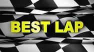 BEST LAP in Checker Open/Close Door - HD1080 Stock Footage