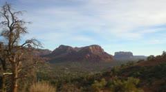 Sedona, Arizona Countryside Scenics Stock Footage