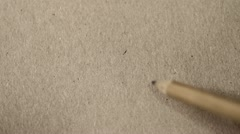 Drawing pencil Stock Footage