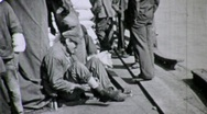 Stock Video Footage of New Orleans Dock Workers Circa 1935 (Vintage Film Archival) 1648