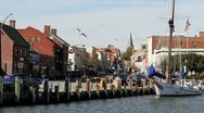 Stock Video Footage of Annapolis Harbor