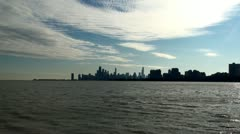 Chicago downtown from distance - stock footage