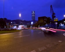 0155 Trafico PAL Stock Footage
