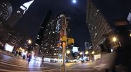 Stock Video Footage of NYC Street corner time lapse