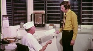 Stock Video Footage of Office Worker Meets Technician Circa 1970 (Vintage Film Home Movie) 1663