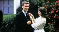 Stock Video Footage of GIRL PROM 1st DATE CORSAGE BOY Teens 1960s Vintage Film Retro Home Movie 1667