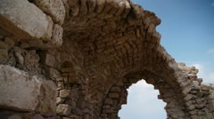 Ashkelon antiquities P6 Stock Footage