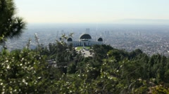 Griffith Park Observatory 10 HD Stock Footage
