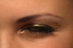 Blink eye Stock Footage