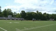 Stock Video Footage of High school football team at practice  (8 of 11)