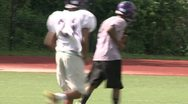 Stock Video Footage of High school Football team at practice (8 of 12)