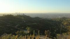 LA Skyline 09 HD - stock footage