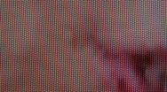 Close up of TV pixels Stock Footage