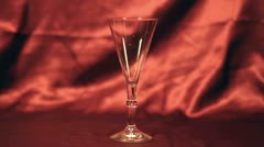 Pouring Champagne 01 Stock Footage