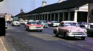 Street Scene New Orleans French Quarter 1960s Vintage Film Home Movie 1694 Stock Footage