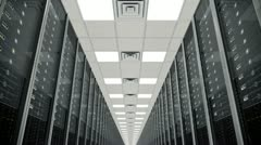 Data center - stock footage