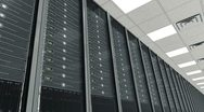Data center Stock Footage
