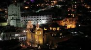 Stock Video Footage of Guanajuato nightview