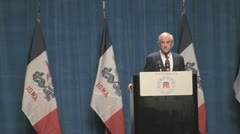 Stock Footage - Congressman Ron Paul on Cutting the Budget - stock footage