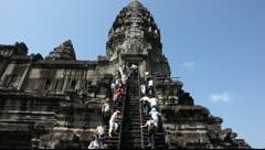 Angkor Wat_LDA N 00617 Stock Footage