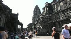 Angkor Wat_LDA N 00619 - stock footage